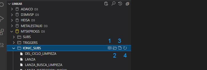 File tree options